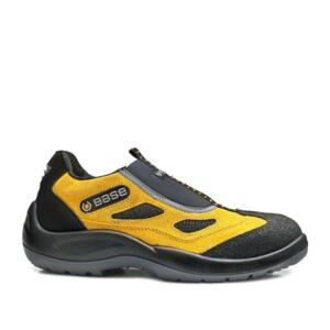 MOCASSINO FOUR HOLES S1P BASSO GIALLO/NERO - B475 BASE PROTECTION