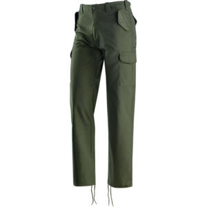 PANTALONE MULTITASCHE ARMY VERDE - 437045