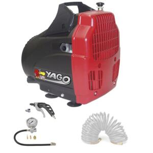 COMPRESSORE YAGO 1850 + KIT PRONTO ALL'USO - 622HOA3604 FINI